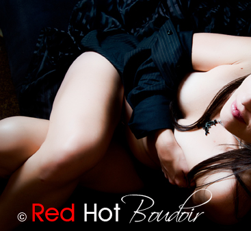 red-hot-boudoir-austin- button down shirt