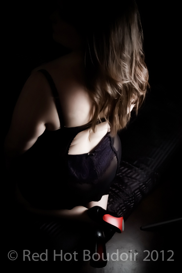 red hot boudoir photography